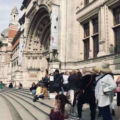 ロンドンの1日.... ディオール展 とそのための時間調整で