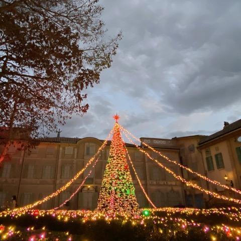 星の王子さまミュージアム、美しい秋とクリスマスの景色