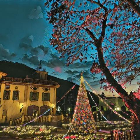 星の王子さまミュージアム、美しい秋とクリスマスの景色:2